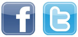 Logo FB and T